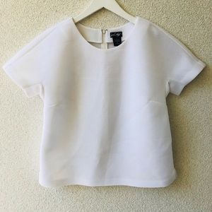 😻 Lord&taylor white oversized top NWT M